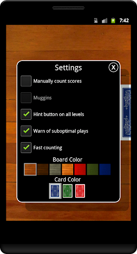 Cribbage Classic Screenshot