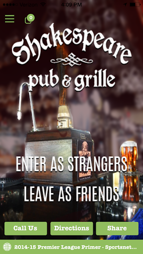 Shakespeare Pub Grill