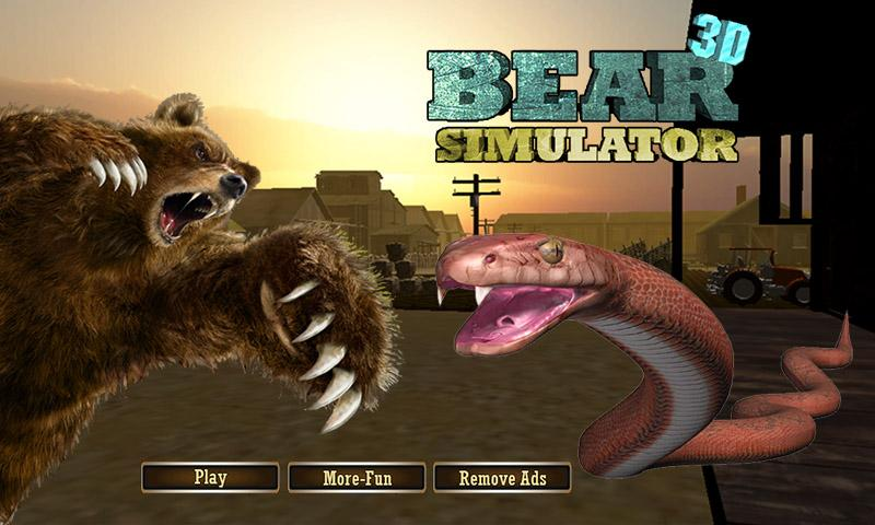 play 3d bear games