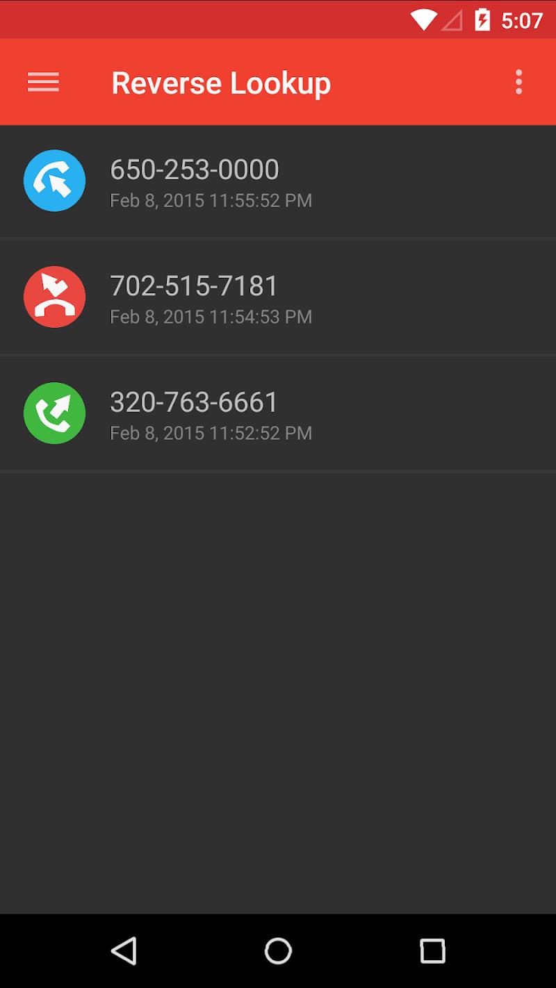 Reverse Lookup PLUS w/ Live Caller ID Screenshot