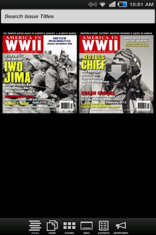 AMERICA IN WWII magazine- screenshot