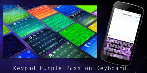 Keypad Purple Passion Keyboard
