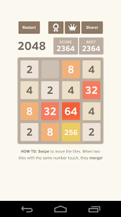 2048 - Powers of two