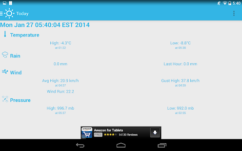 Home Weather Station - Cumulus- screenshot thumbnail