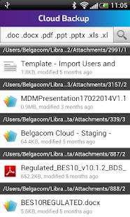Cloud Backup - screenshot thumbnail