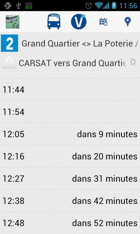 Transports Rennes- screenshot