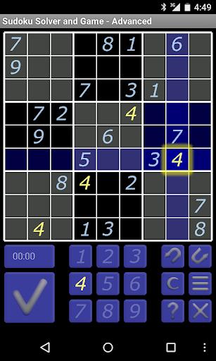 Sudoku Solver Game - Medium