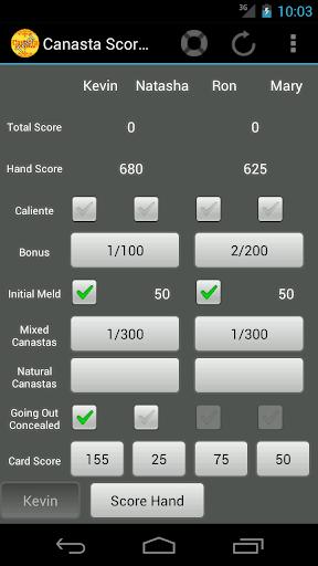 【免費休閒App】Canasta ScoreKeeper-APP點子