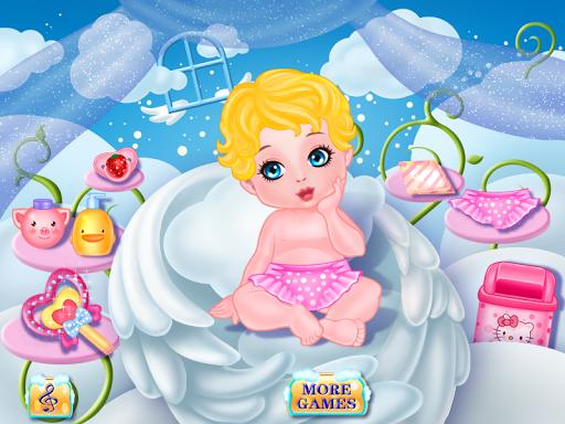 天使照顧寶寶的遊戲