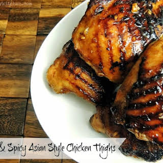 Hot And Spicy Chicken Thighs Recipes.