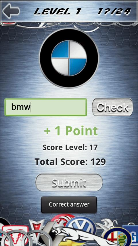 Car Logo Quiz Advanced- screenshot