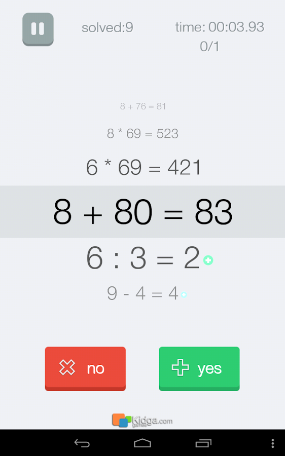 Easy Math! - screenshot