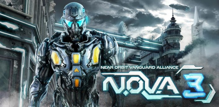 N.O.V.A. 3 Near Orbit Vanguard Alliance android Para LG Optimus L3 E-400