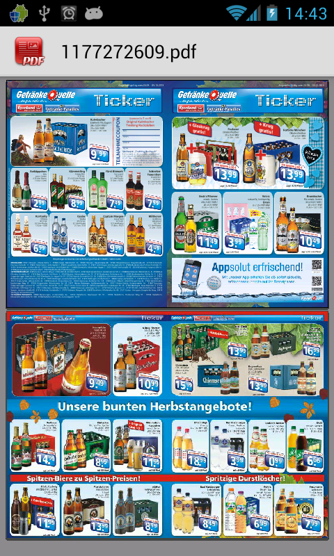 Fantastisch Getränke Quelle Angebote Zeitgenössisch ...