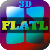 Next Launcher 3D Theme FlatL