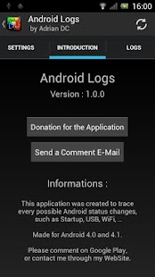 Android Logs - screenshot thumbnail