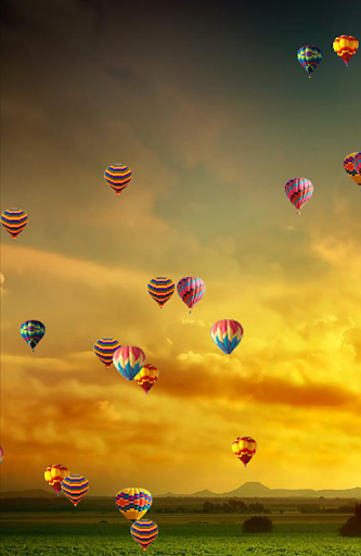 Parachutes Live Wallpaper