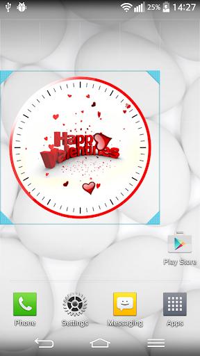 バレンタインデ 時計