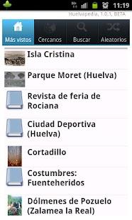 Huelvapedia - screenshot thumbnail