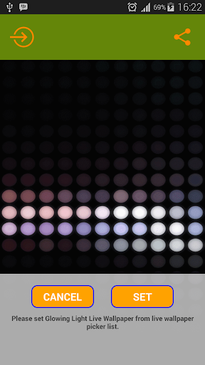 Dot Animation Live Wallpaper