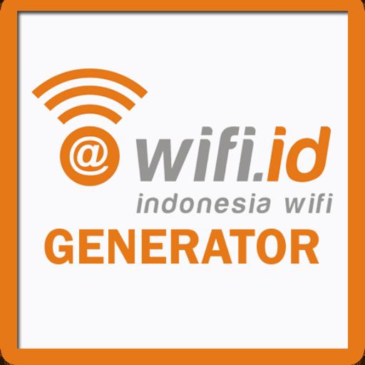 Wifi.id Generator LOGO-APP點子