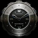 Dragon Clock Widget black icon