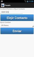 Screenshot of Pasa Saldo