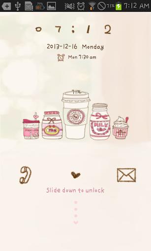 Sweet pink go locker theme