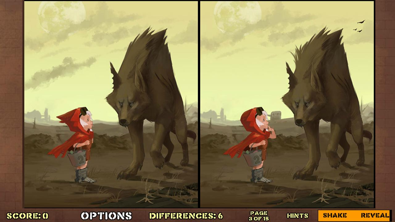 Hidden Differences - Red Hood - screenshot
