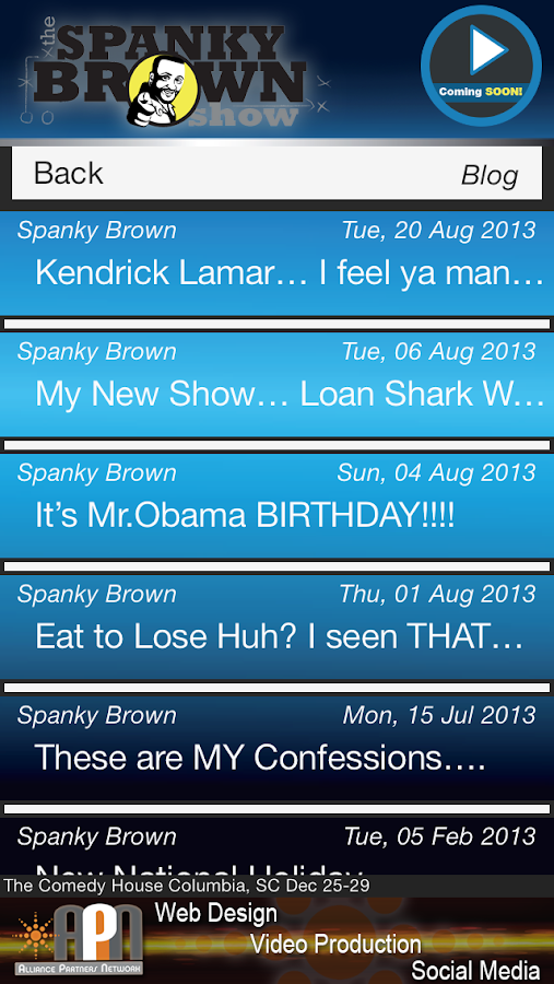 The Spanky Brown Experience- screenshot