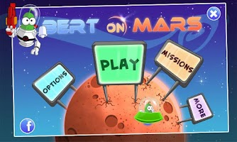 Screenshot of Bert On Mars