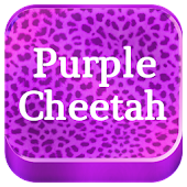 Keypad Purple Cheetah