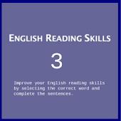 English reading skills III