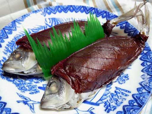 アジの丸寿司