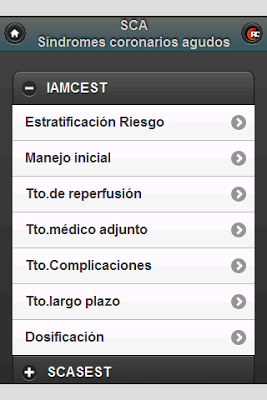 Síndromes Coronarios Agudos - screenshot