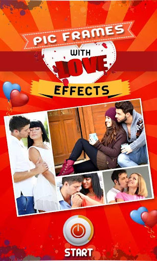 Pic Frames With Love Effects