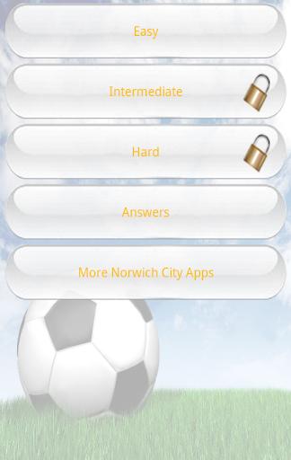 Norwich City Quiz