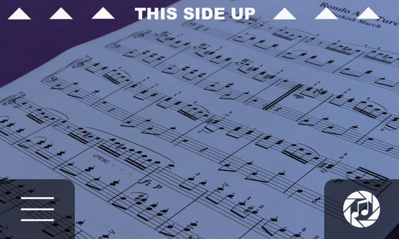 iSeeNotes - sheet music OCR!- screenshot