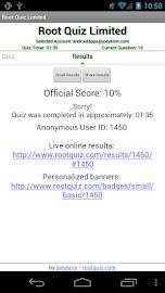 Root Quiz - Limited Screenshot 3