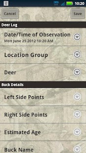 ScoutLook DeerLog - screenshot thumbnail