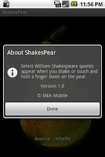玩免費娛樂APP|下載Shakes Pear app不用錢|硬是要APP
