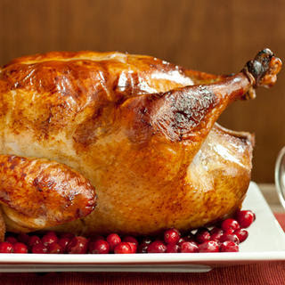 Easy Brined Roasted Turkey with Creamed Gravy