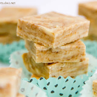 Dirty Chai Spiced Fudge.