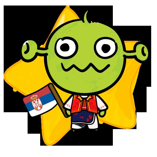 Android aplikacija [B]TypingCONy for Serbian