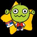 [B]TypingCONy for Serbian logo