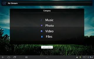 Screenshot of Media Zone