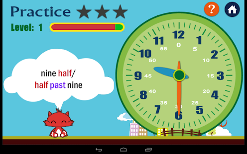 Kids Learn Time- screenshot thumbnail