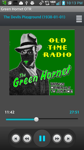 The Green Hornet Radio Show