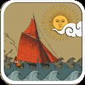 Paper Sea Live Wallpaper FREE icon