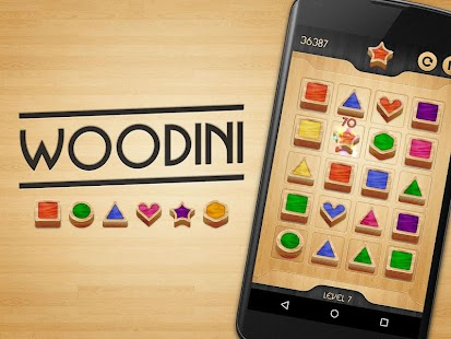 Woodini - wooden blocks puzzle- screenshot thumbnail
